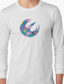 Watercolor Sabine (white) Long Sleeve T-Shirt