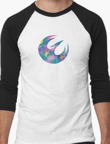 Watercolor Sabine (white) Men's Baseball ¾ T-Shirt