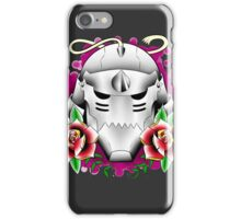 traditional alphonse elric helmet iPhone Case/Skin