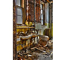 Lead Sinks Photographic Print