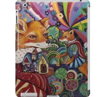 Super Fox saves the day iPad Case/Skin