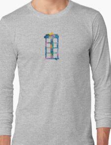 Watercolor Tardis (white) T-Shirt