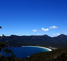 Wine Glass Bay Lookout - Freycinet National Park, Tasmania by Nathan Lam