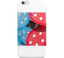 Handheld pinwheels – closeup iPhone Case/Skin