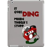 Timey Wimey Detector iPad Case/Skin