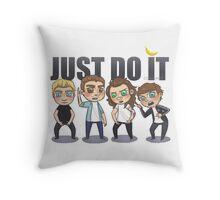Just 1Do It Throw Pillow