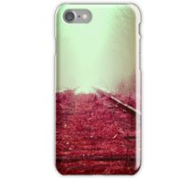 Train rail iPhone Case/Skin