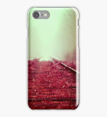 Train rail iPhone Case/Skin