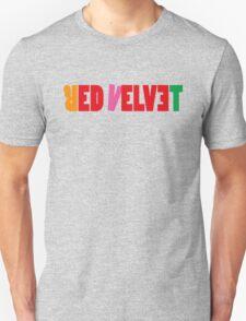 Red Velvet 'The Red' Text T-Shirt