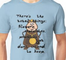 Cogsworth's Take on Love Unisex T-Shirt