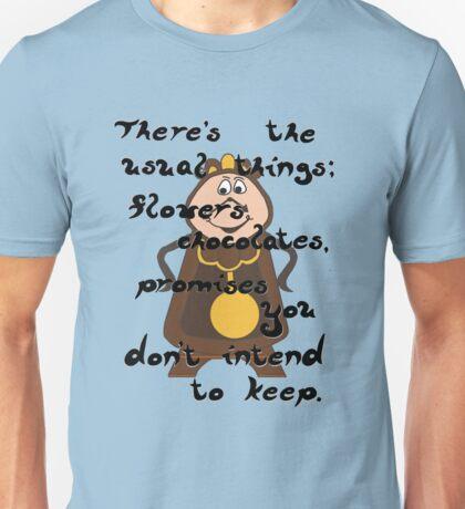 Cogsworth's Take on Love Unisex T-Shirt