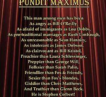 Pundit Maximus Poem by PM Poem