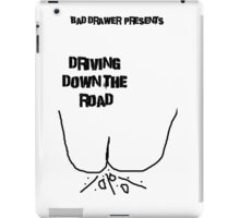 Bad Drawer Presents Driving down the road iPad Case/Skin