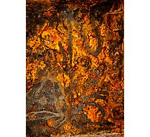 Rusty Abstract Photographic Print