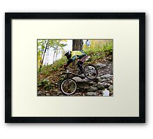 Men's Downhill Race at Sugarbush Framed Print
