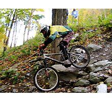 Men's Downhill Race at Sugarbush Photographic Print