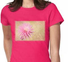 Pink Mum with Little Bud ~ for Mom Womens Fitted T-Shirt