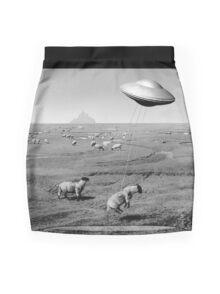 Night Flight Mini Skirt