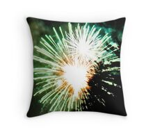 Wollongong Fireworks New Years Eve Throw Pillow