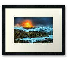 Mystery Bay. Framed Print