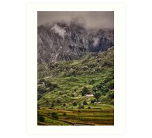 Ogwen Valley, Wales Art Print