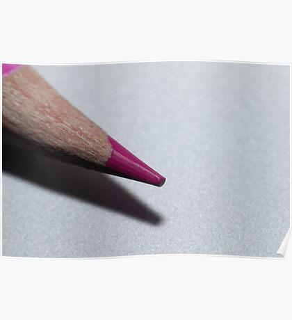 Coloured pencil Poster