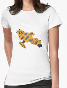 I'm Shiny Captain - Serenity and Firefly - Yellow Womens Fitted T-Shirt