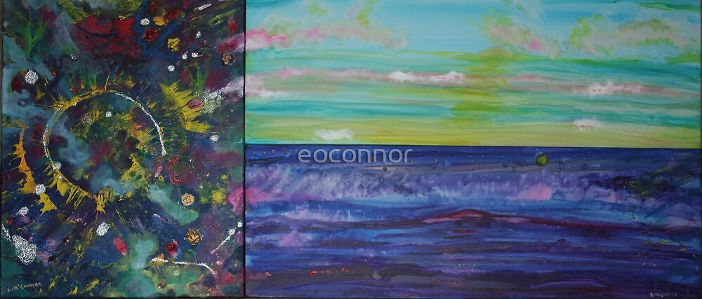 Creation, Beginning ! Day and Night by eoconnor