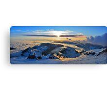 Rainier Sunrise Canvas Print