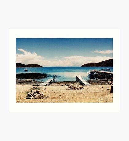 Isla del Sol I Art Print