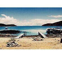 Isla del Sol I Photographic Print