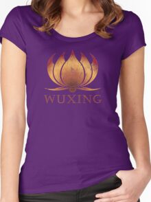 Wuxing Women's Fitted Scoop T-Shirt