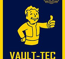 Fallout Inspired - Yellow Thumbs by VeraLee