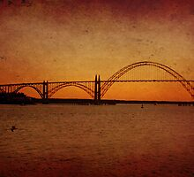 Yaquina Bay Bridge~Newport~Oregon by aussiedi
