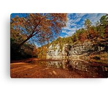 Bluff of the Buffalo National River Canvas Print