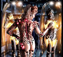 Cyberpunk Painting 066 by Ian Sokoliwski