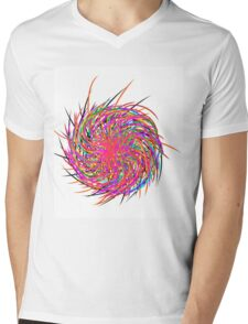 Pinwheel Mens V-Neck T-Shirt