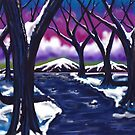 """""""Ice Mountain River Under Affable Skies"""" by Steve Farr"""