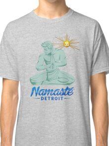 Namaste Detroit Full Color Classic T-Shirt