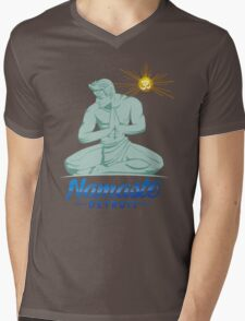 Namaste Detroit Full Color Mens V-Neck T-Shirt