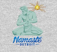 Namaste Detroit Full Color Womens Fitted T-Shirt