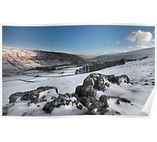 Littondale From Halton Gill Poster