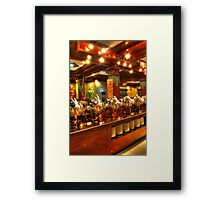 Buffet Is Ready Framed Print