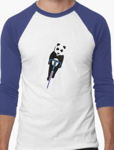 Panda Fixie Men's Baseball ¾ T-Shirt