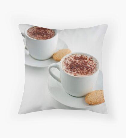 Cappuccino Time Throw Pillow