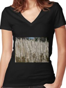 Buenos Aires - Costanera Sur Women's Fitted V-Neck T-Shirt
