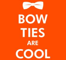 Bow Ties Are Cool - Doctor Who Tribute