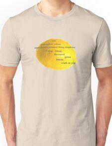 Lemon, i have a crush on you! Unisex T-Shirt