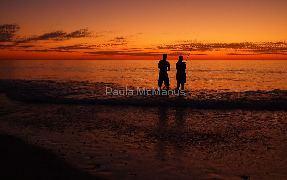 Great Way To End The Day by Paula McManus