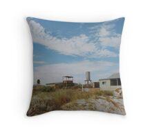 Shack (Wedge Island) Throw Pillow